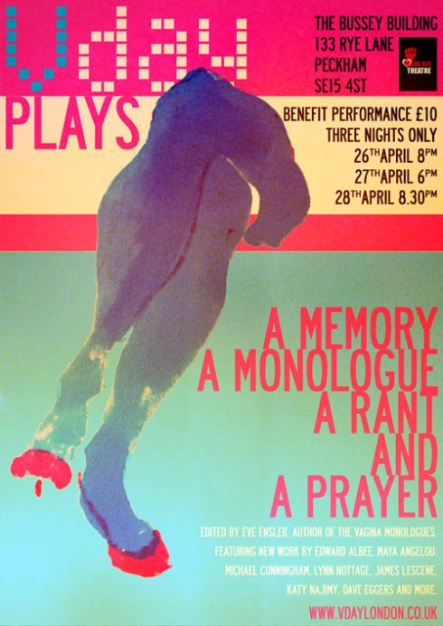 A Memory, A Monologue, A Rant and A Prayer flyer